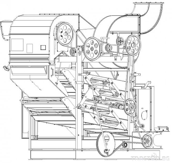 Обработка на зърно Зърнопочистваща машина ОВС-25С 2